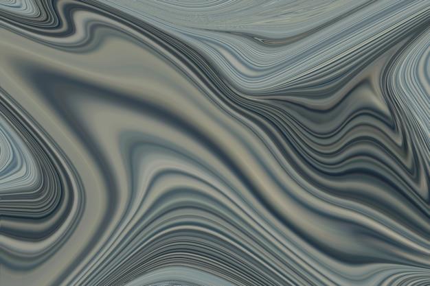 Fondo de textura de pintura de marmoleo de arte fluido gris