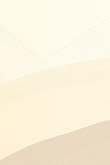 Fondo de textura de pintura de peine beige