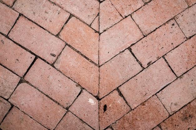 Fondo de textura de piso de ladrillo