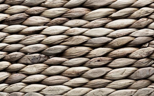 Fondo de textura con rayas horizontales de cuerda