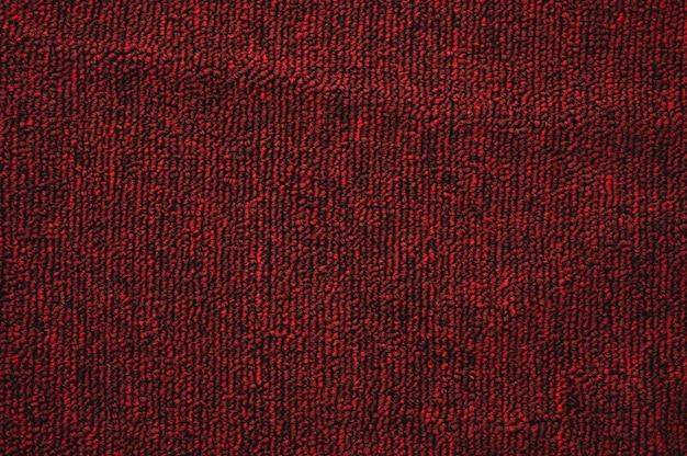Fondo de textura de saco rojo abstracto