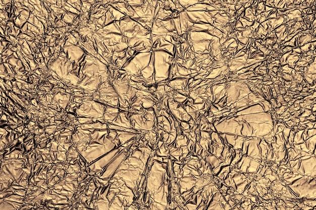 Fondo de textura de superficie de lámina de oro