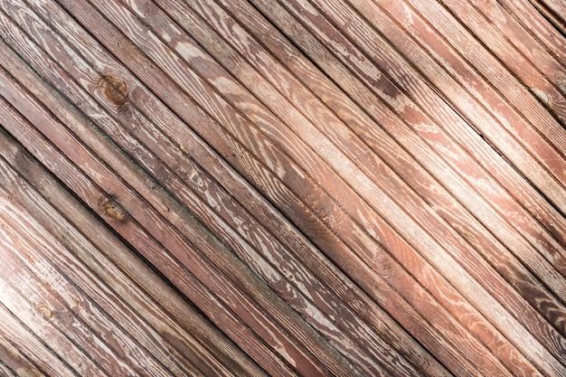 Fondo y textura de la tabla de madera marrón.