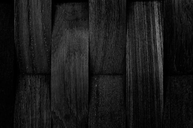 Fondo de textura de tablón de madera negro