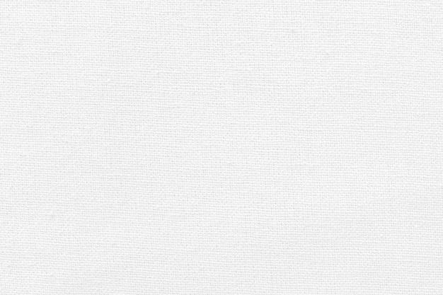 Fondo de textura de tela de algodón blanco