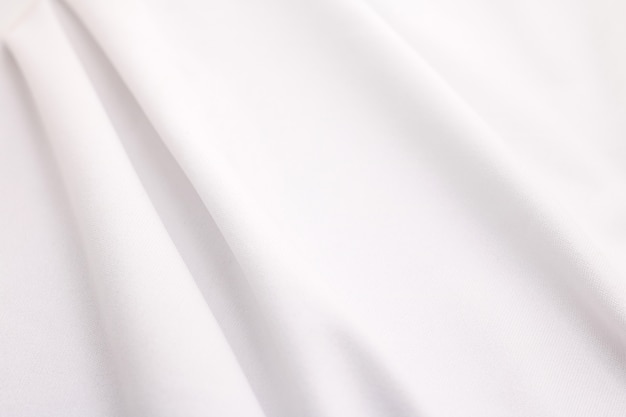 Fondo de textura de tela blanca. material de tela abstracto.