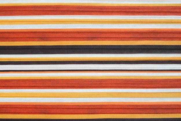 Fondo de textura de tela a rayas.