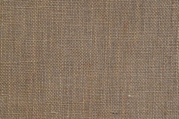 Fondo de textura de tela de saco