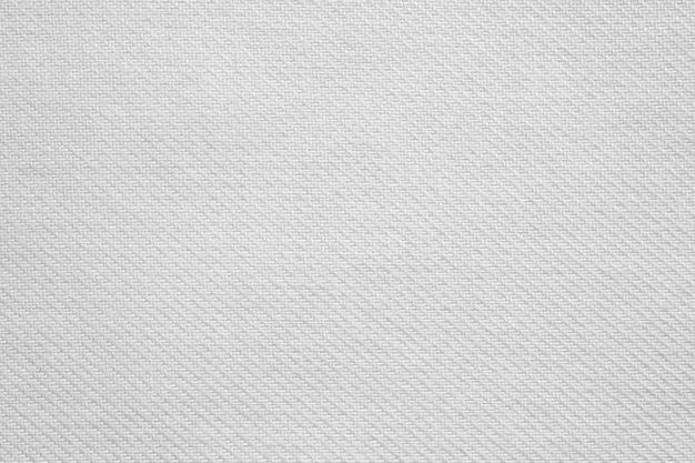 Fondo de textura de tela de tela de algodón blanco
