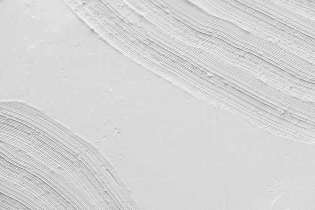 Fondo de textura de trazo de pincel blanco abstracto