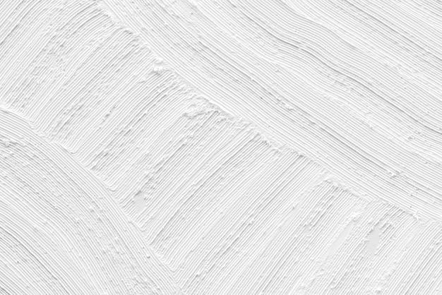 Fondo de textura de trazo de pincel blanco