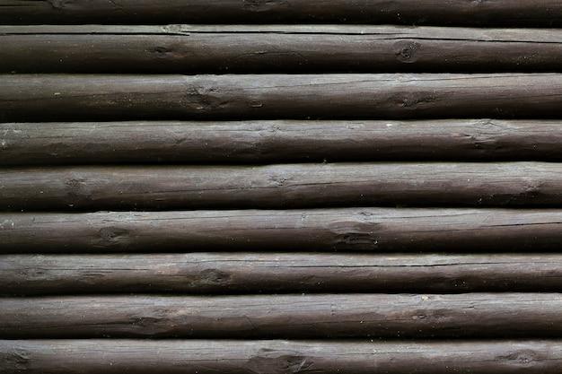 Fondo de textura de troncos de árbol de madera