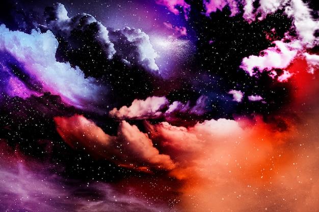 Fondo texturizado colorido universo abstracto