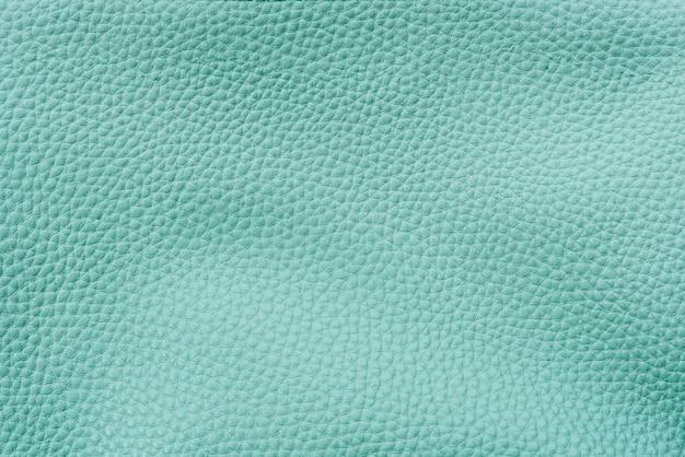 Fondo texturizado de cuero verde azulado liso