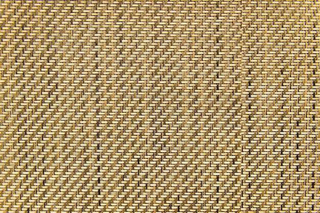Fondo texturizado estera tejida marrón