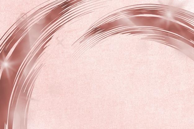 Fondo texturizado con marco de borde rosa polvoriento