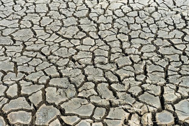 Fondo de tierra seca agrietada
