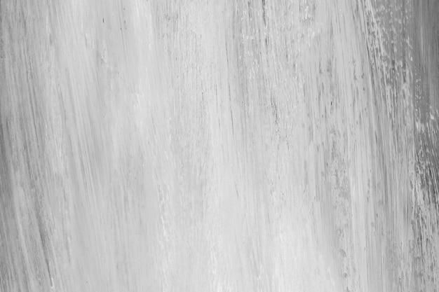 Fondo de trazo de pincel blanco y negro con textura
