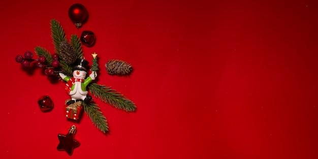 Fondo de vacaciones de navidad y año nuevo