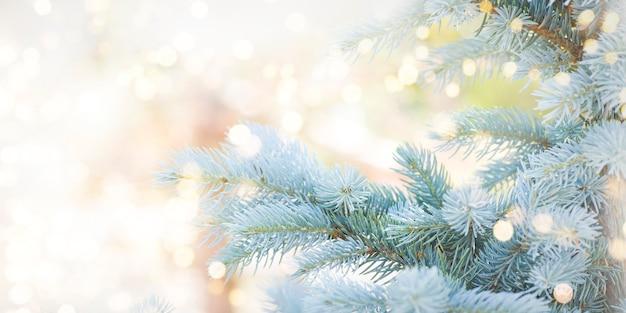 Fondo de vacaciones de navidad y año nuevo.