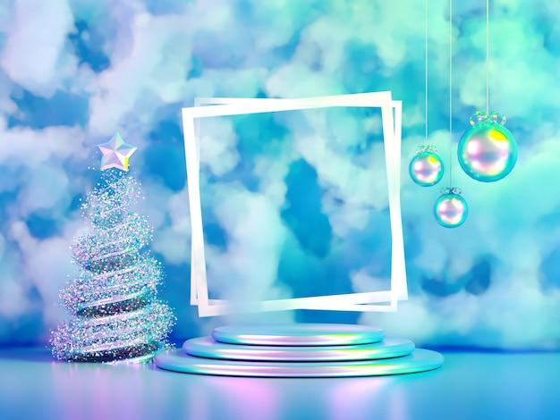 Fondo de vacaciones de navidad de lujo hermoso.