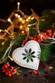 Fondo de vacaciones de navidad.