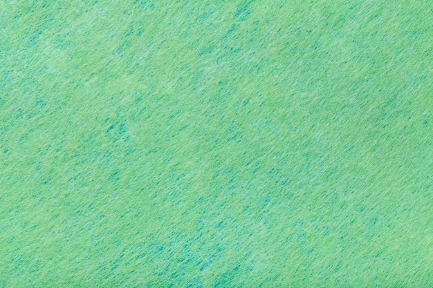Fondo verde de tela de fieltro