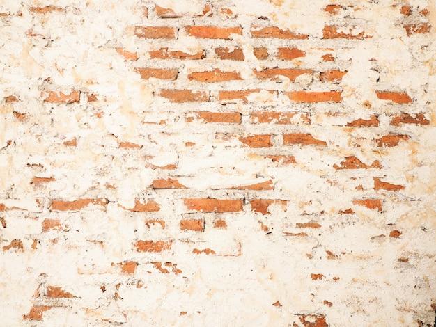 Fondo de viejas paredes de ladrillo