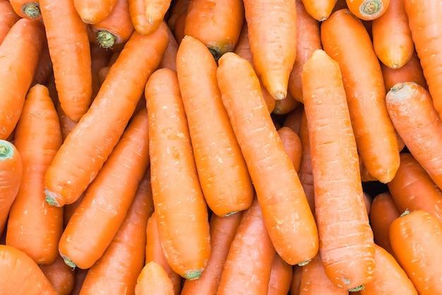 Fondo de la zanahoria