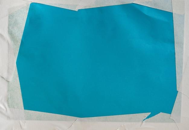 Fondos de papel de arte azul