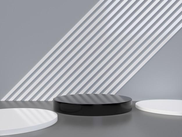 Forma abstracta mínima forma geométrica abstracta