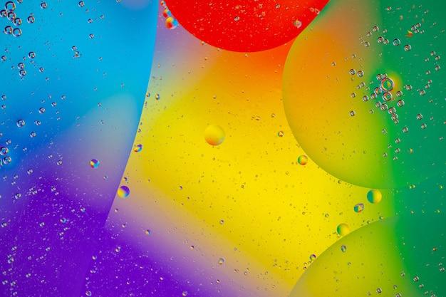 Forma fluida suave de diferentes colores.