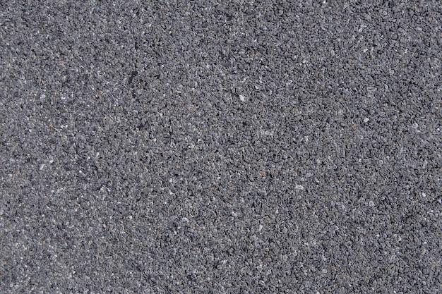 Forma de hormigón granulado detalle carretera