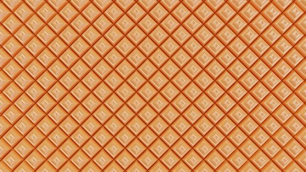 Formas de pirámide de fondo naranja transparente golpeteo
