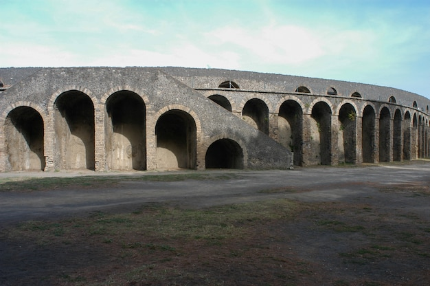 El foro, pompeya, italia