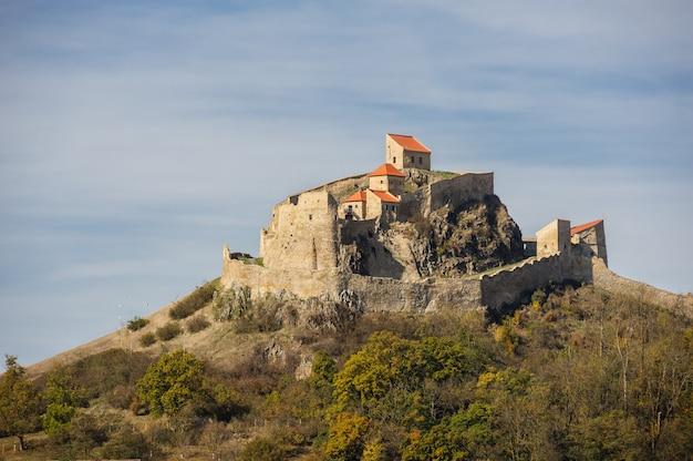 Fortaleza medieval de rupea en rumania