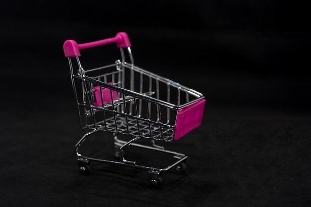 Foto abstracta del viernes negro, foto abstracta del tiempo de compras