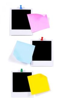 Foto en blanco imprime con notas adhesivas (xl)