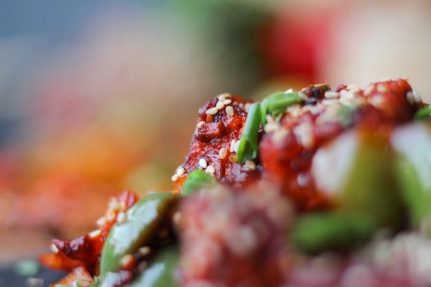 Foto de comida macro
