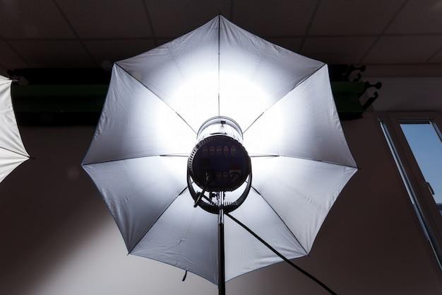 Foto estudio flash estroboscópico para luz