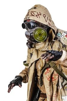 Foto de estudio de sobreviviente nuclear
