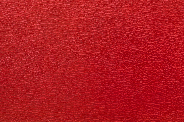 Foto de fotograma completo de fondo de cuero rojo.