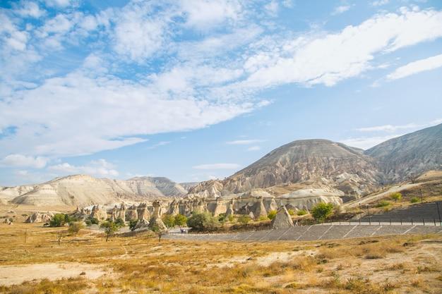 Foto parque nacional cappadocia valley view