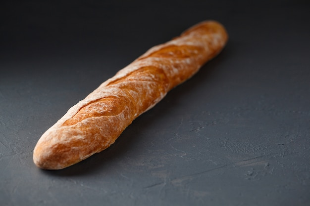Foto de primer plano de baguette francés