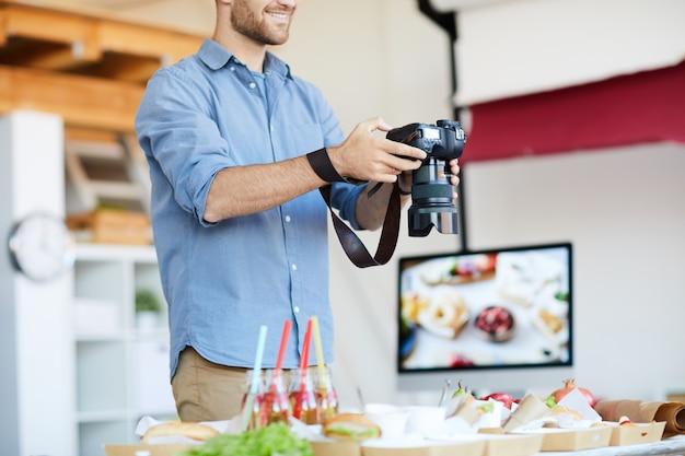 Fotografía de alimentos en proceso
