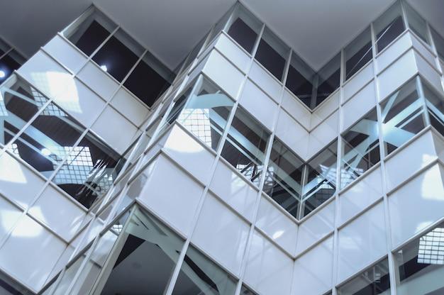 Fragmento abstracto de la arquitectura moderna