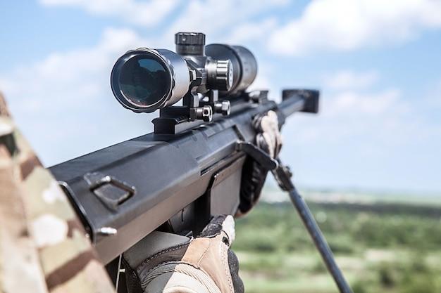 Francotirador del guardabosques del ejército