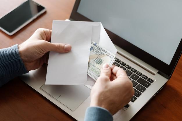 Fraude en línea fraude con tarjeta de crédito en internet