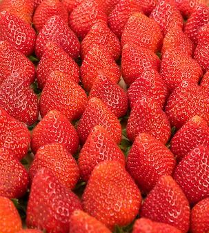 Fresa. bayas orgánicas frescas.