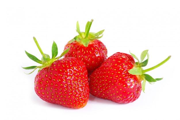 Fresa en blanco aislado